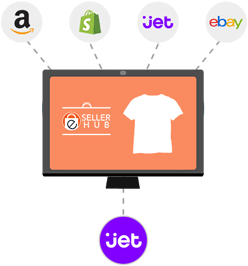 Jet list products from anywhere