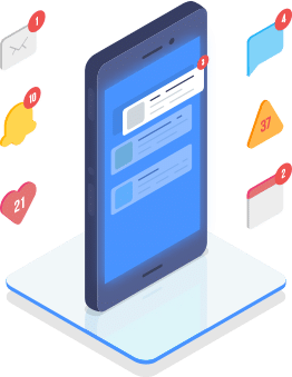 Email and mobile notifications